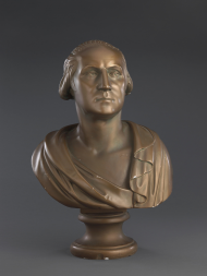 This bust is one of hundreds made in 1932 to honor George Washington's 200th birthday.