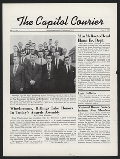 The Capitol Courier Newsletter