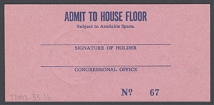 House Floor Pass