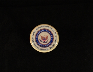 Federal Hall Joint Meeting Lapel Pin