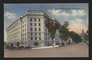 Longworth House Office Building Postcard