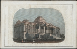 View of the Capitol, Washington