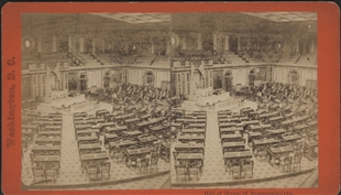 House Chamber Stereoview