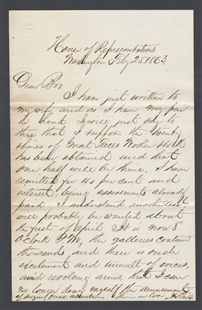 Letter from Azariah Tripp to Philip Tripp