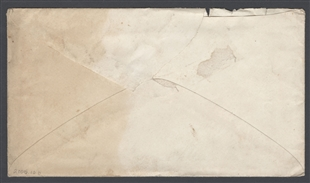 Envelope with Congressional Postmark