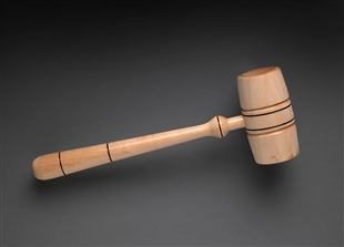Gavel of the Clerk of the House