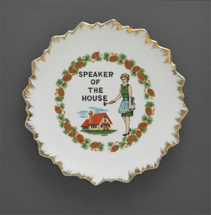 Speaker of the House Plate
