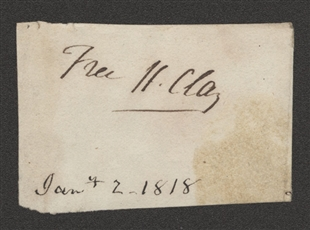Henry Clay Signature