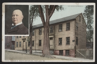 Thomas B. Reed Birthplace Postcard