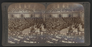 McKinley Eulogy Stereoview