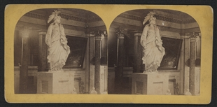 Statue of Freedom Stereoview