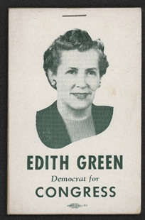 Edith Green Campaign Notepad