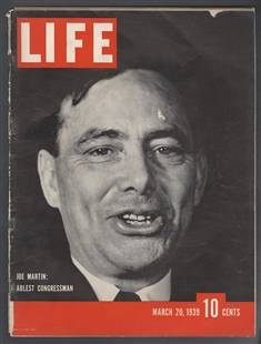 Joe Martin, Life Magazine Cover