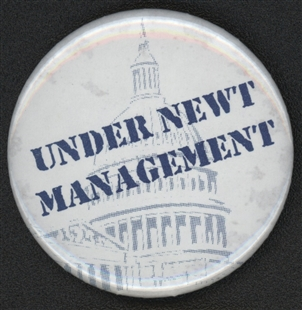 Newt Gingrich Button