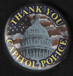 Thank You Capitol Police Lapel Pin