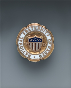National Fraternity of Pages Pin