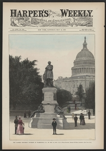 The Garfield Monument Unveiled at Washington, D.C. on May 12, 1887