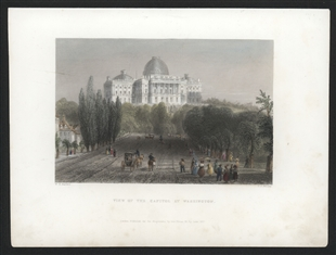 View of the Capitol at Washington
