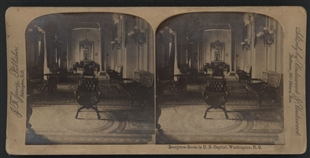Capitol Reception Room Stereoview