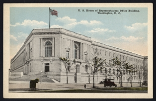 U.S. House of Representatives Office Building, Washington, D.C., Postcard