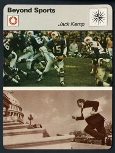 Jack French Kemp Trading Card