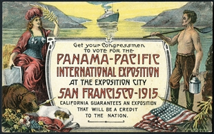 Panama-Pacific International Exposition Postcard