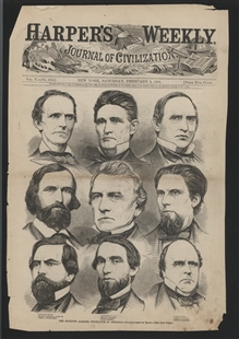 The Seceding Alabama Delegation in Congress