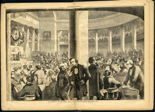 The Meeting of Congress - Hall of Representatives, December, 1857
