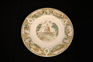 Capitol Commemorative Plate