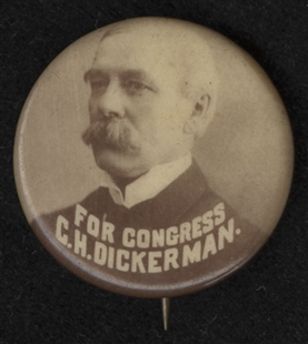 Charles Heber Dickerman Lapel Pin