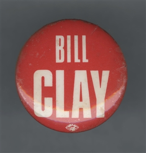 William Lacy Clay Sr. Lapel Pin