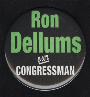 Ronald V. Dellums Lapel Pin