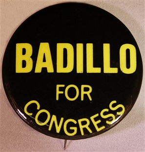 Herman Badillo Lapel Pin