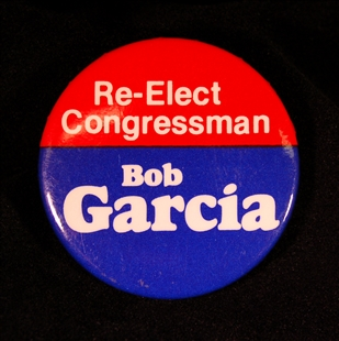 Robert Garcia Lapel Pin