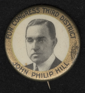John Boynton Philip Clayton Hill Lapel Pin