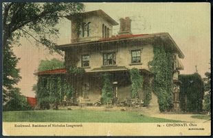 Rookwood. Residence of Nicholas Longworth Postcard