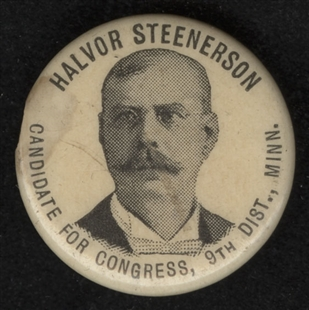 Halvor Steenerson Lapel Pin