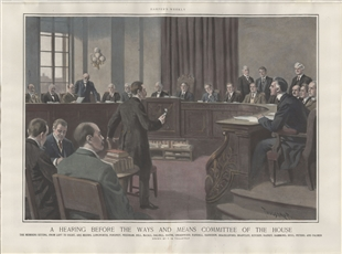 A Hearing Before the Ways and Means Committee of the House
