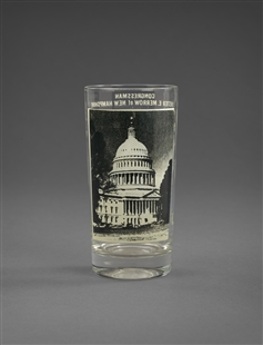 Chester Earl Merrow Drinking Glass