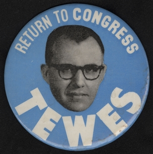Donald Edgar Tewes Lapel Pin