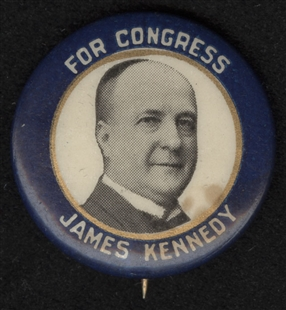 James Kennedy Lapel Pin