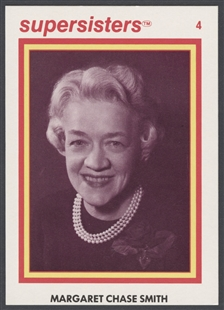 Margaret Chase Smith Supersisters Trading Card