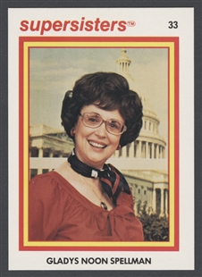 Gladys Noon Spellman Supersisters Trading Card