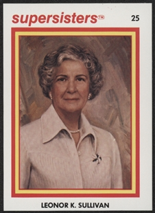 Leonor K. Sullivan Supersisters Trading Card