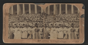 Christian Endeavor Convention Stereoview