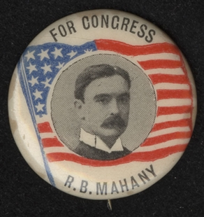 Rowland Blennerhassett Mahany Lapel Pin