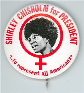 Shirley Anita Chisholm Lapel Pin