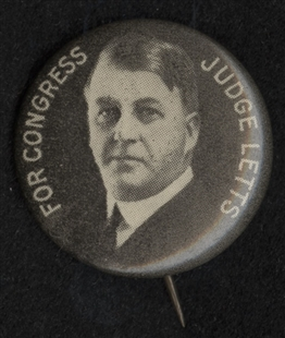 Fred Dickinson Letts Lapel Pin