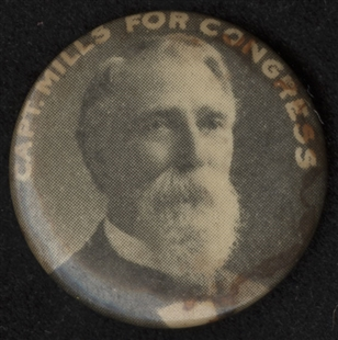 Daniel Webster Mills Lapel Pin