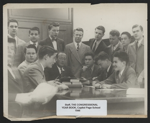 Staff of the Congressional Year Book